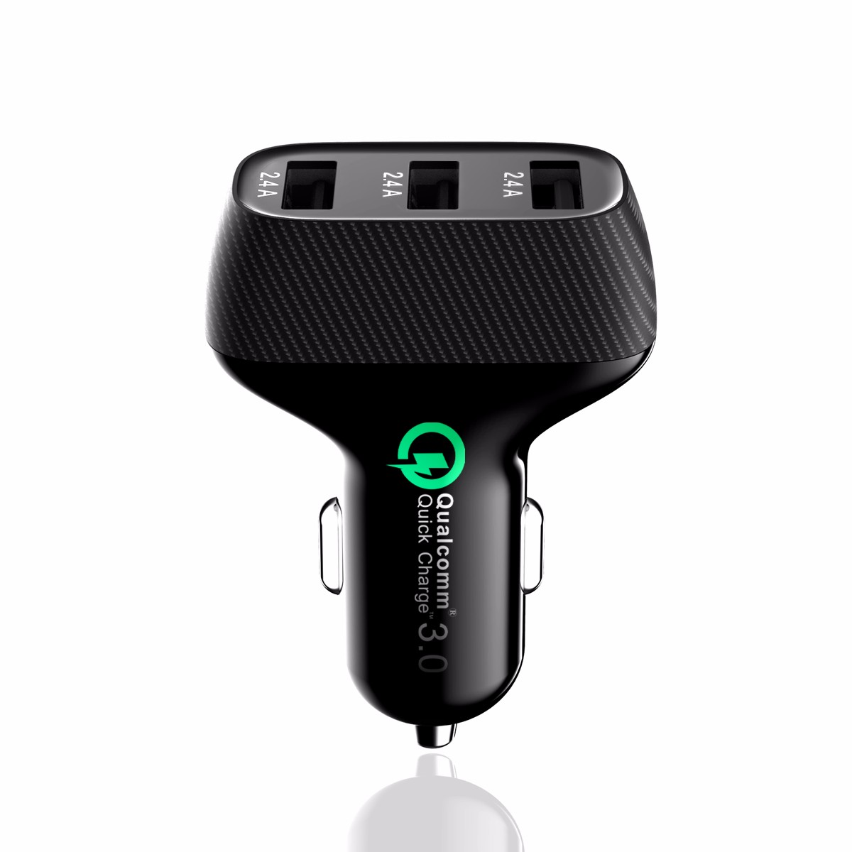 Three ports 5V/7.2A USB Car Charger