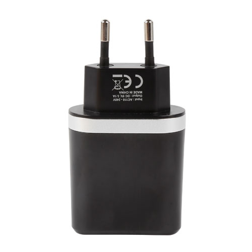 Dual USB wall charger with CE(图1)
